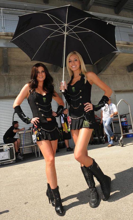 Pitbabes y Grid girls: 100 imágenes de las chicas más hot en carreras de autos (FOTOS)