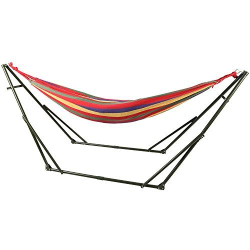 Redcamp Single Or Double Hammock Stand 10 Foot Portable With Carrying Case Kinyti Shopping With Images Hammock Stand Double Hammock Carrying Case