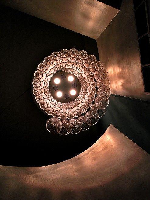Glass spiral