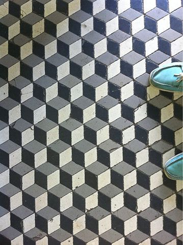 Via Young Pretty Wild   Geometric Floor Tiles   paul & co ...