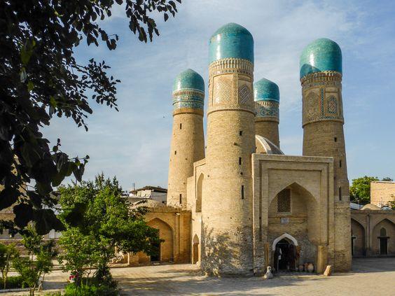 https://flic.kr/p/jgm4g9 | Char minar in Bukhara, Uzbekistan |