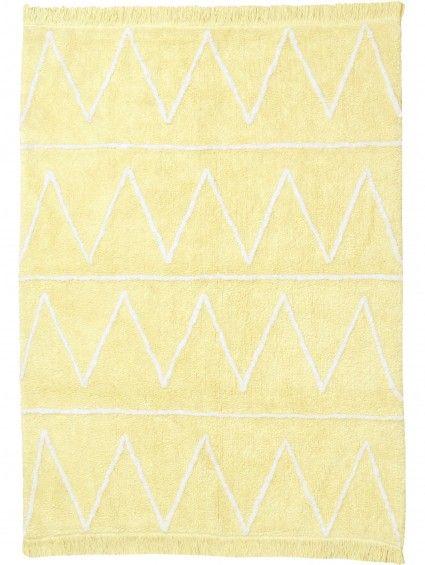 Kinderteppich Hippy Gelb 120x160 cm