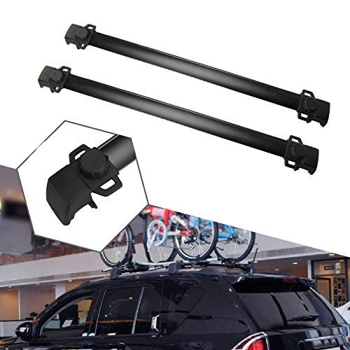Alavente Roof Rack Cross Bars System Compatible For Jeep Compass