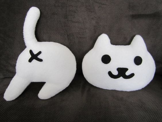 Hey, I found this really awesome Etsy listing at https://www.etsy.com/listing/266827900/one-1-face-and-one-1-butt-neko-atsume