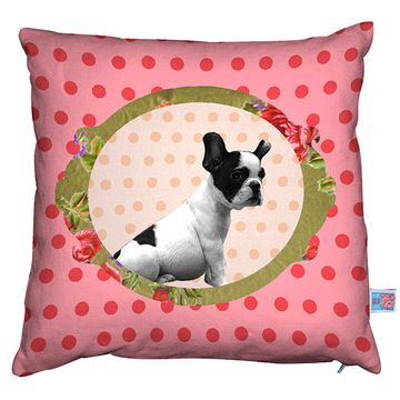 Bull Baby Rose Cushion