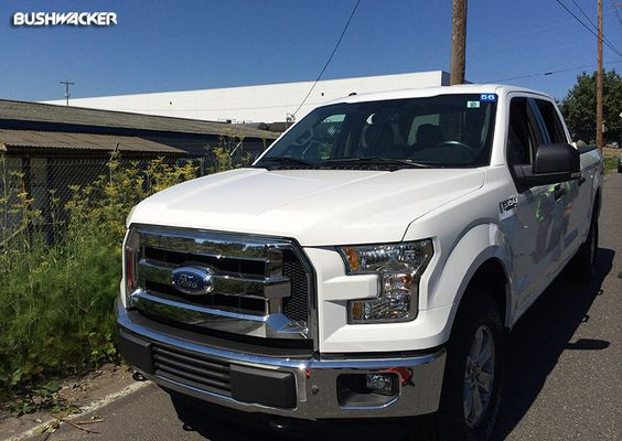 Our 2015 Ford F-150 SEMA Show project rig has arrived!