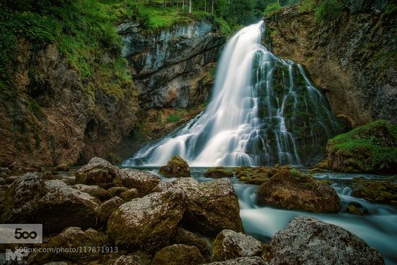 krishna1timsina:  Gollinger Wasserfall by martinpodt