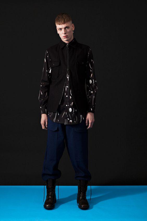 #Menswear #Trends Marius Petrus Fall Winter 2015 Otoño Invierno #Tendencias #Moda Hombre    F.Y!