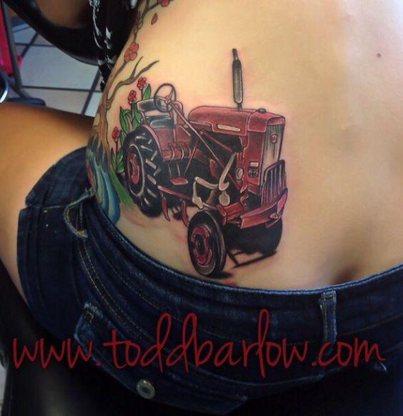 International Tractor Tattoo Designs : International harvester tattoo body mods pinterest