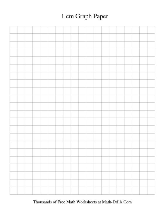 1 Cm Metric Graph Paper Black Printable Graph Paper Math