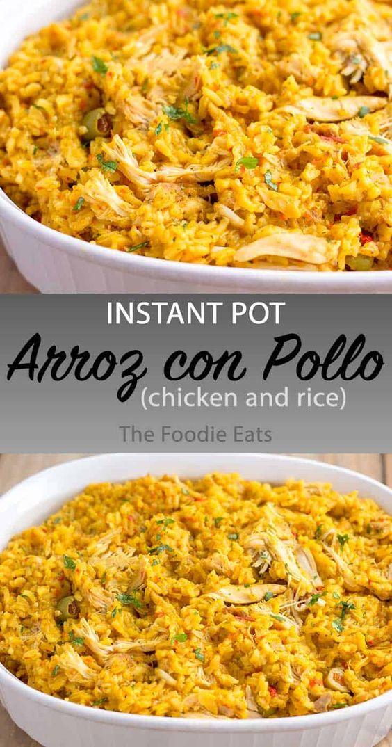 Pressure Cooker Arroz con Pollo (Chicken and Rice)
