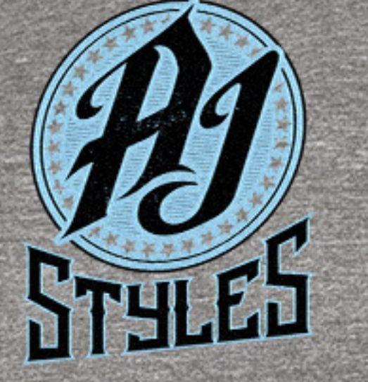 Aj Styles Logo 21 Wwe Aj Styles Wwe Logo Style