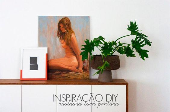InspiraçãO Diy | Molduras Pintadas