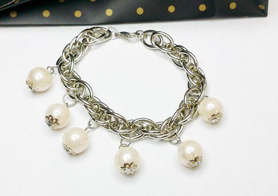 Bettelarmband Silberarmband Perlenarmband MA120 von Schmuckbaron