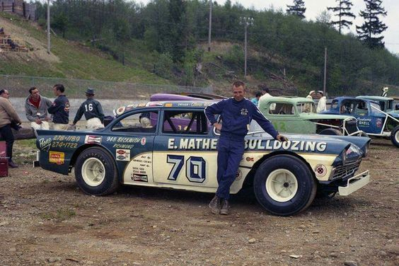 57 ford stock car blue oval garage pinterest cars for Dirt track garage