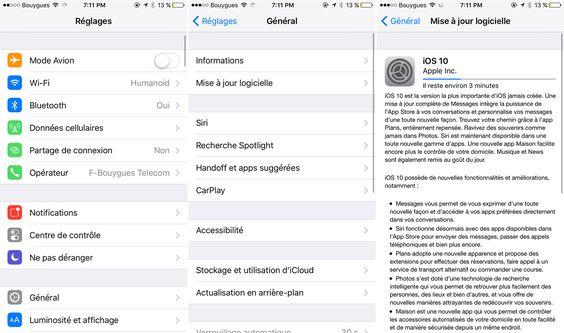 Est-ce que votre iPhone, votre iPad ou votre iPod sera compatible avec iOS 10 ? Après l'annonce de la mise à jour lors de la WWDC, Apple a mis en ligne son guide de compatibilité. iOS 10 est annoncé pour le 13 septembre 2016 à 10h, heure de Cupertino.