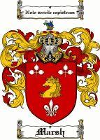Marsh Coat of Arms / Marsh Family Crest