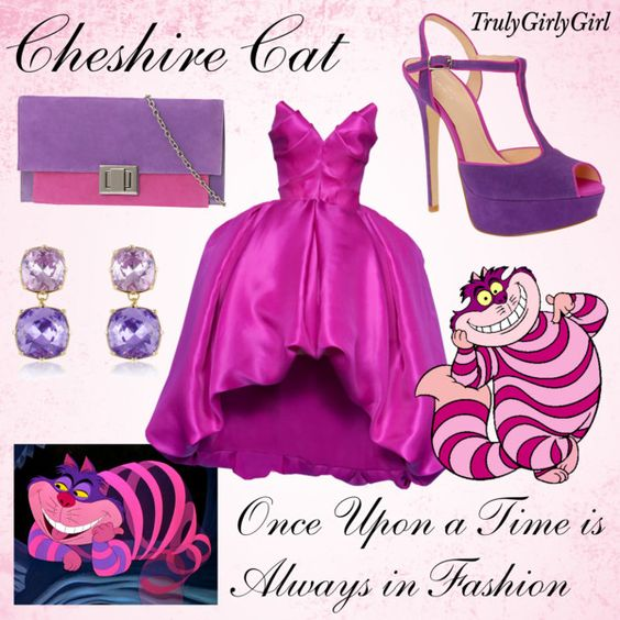 Disney Style: Cheshire Cat, created by trulygirlygirl on Polyvore