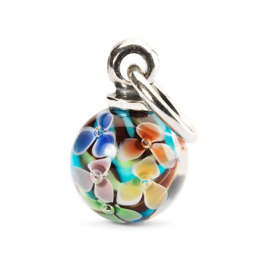 Limited Edition Daydream Blossom Petals Hanging Glass Bead