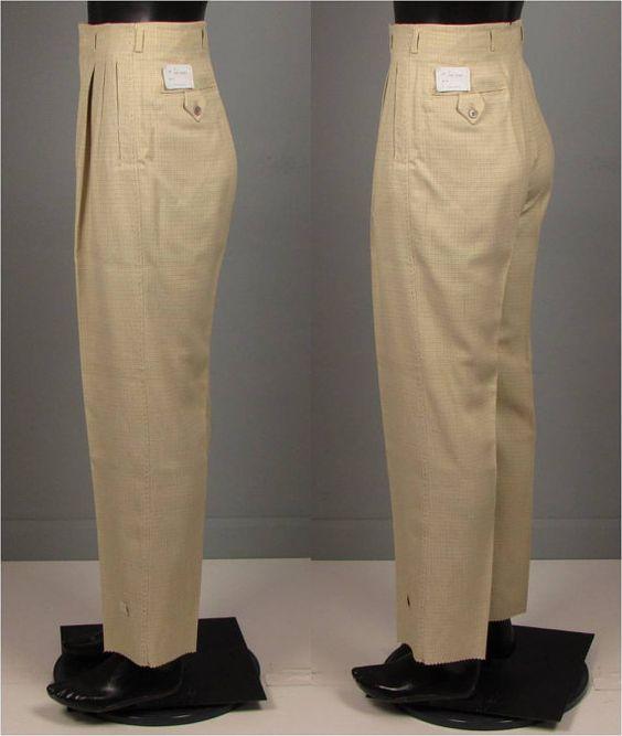 Vintage Men S Pants 7