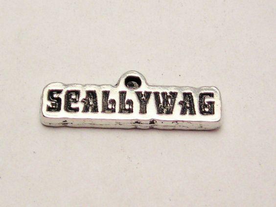 Scallywag Genuine American Pewter Charm
