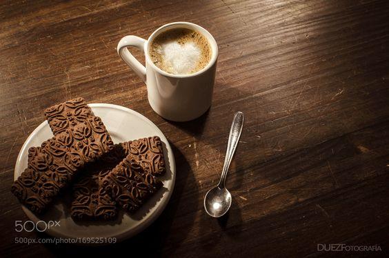 Café con chocolinas by diedominguez