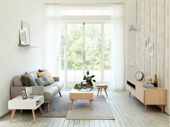 canapé scandinave –23 idées tendance pour un intérieur nordique