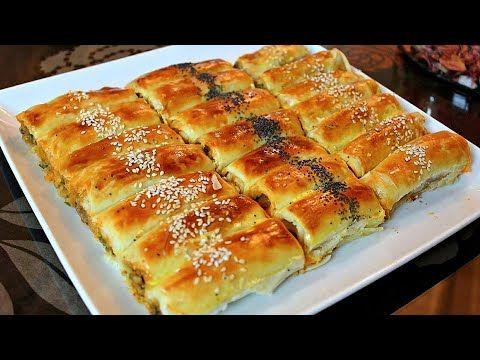 فطائر البوراك التركي الرائعة بلمسة مغربية بعجين هش مقرمش ومورق بدون زبدة وحشوة اقتصادية ولذيذة جدا Youtube Food Turkish Recipes Eid Food