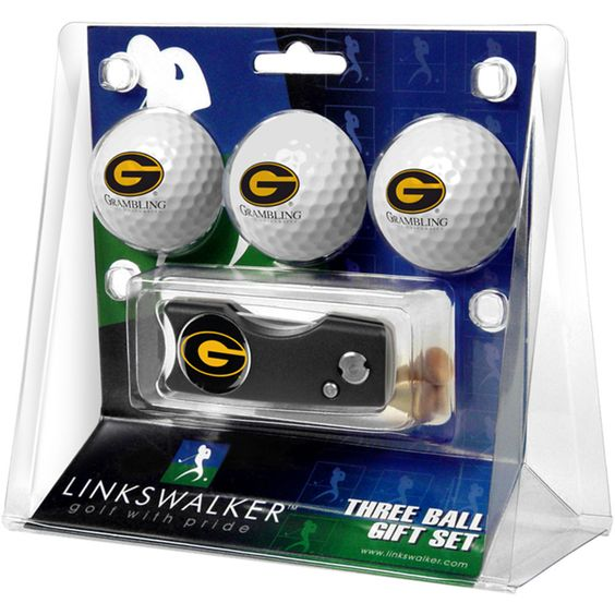 Georgia State Panthers NCAA 3 Golf Ball Gift Pack w/ Spring Action Div
