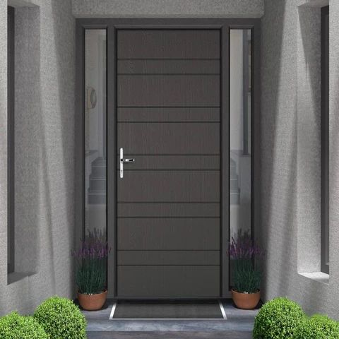 Composite Doors Virtuoso Extreme Grp Doors Secure By Design Tagged Timber Composite Doors Contemporary Front Doors Composite Door Grey Upvc Doors