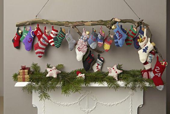 Advent Calendar Handmade Knitting : Advent calendar knitting crochet pinterest knit