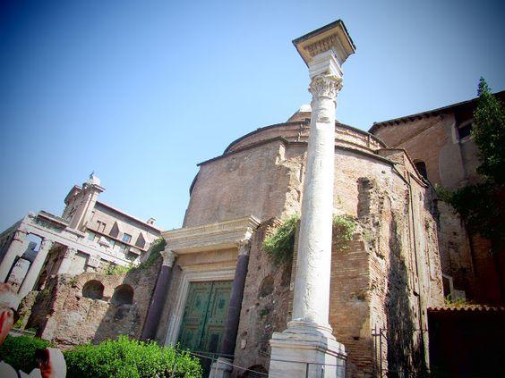 Mis 365 vestidos: Coliseo y Foro de Roma