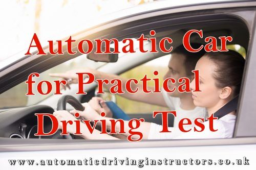 Pin On Automatic Driving Instructors