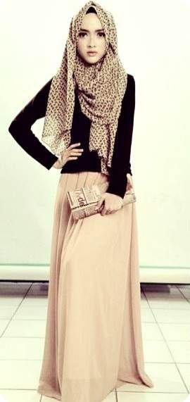 long coats and long skirts muslim girls - Google Search | Fashion