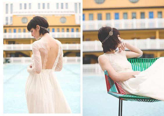 Les robes de mariée élégantes et modernes de Elise Hameau #LeFashionPost #WilliamArlotti #Webzine #Mode #Fashion #Lifestyle #Interview #EliseHameau #Designer #Paris #Mode #Fashion #Wedding #Mariage