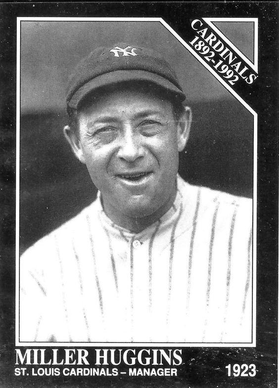 MILLER HUGGINS Sporting News 1992 Conlon Collection #649 Baseball Card - MINT #StLouisCardinals