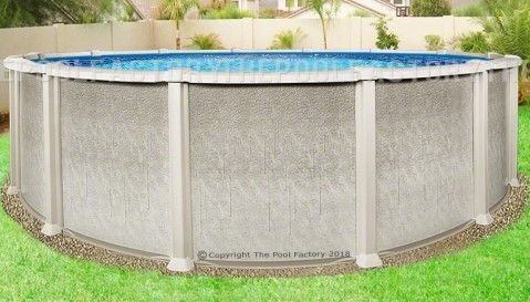 24 X54 Saltwater 8000 Round Pool Round Pool Best Above Ground