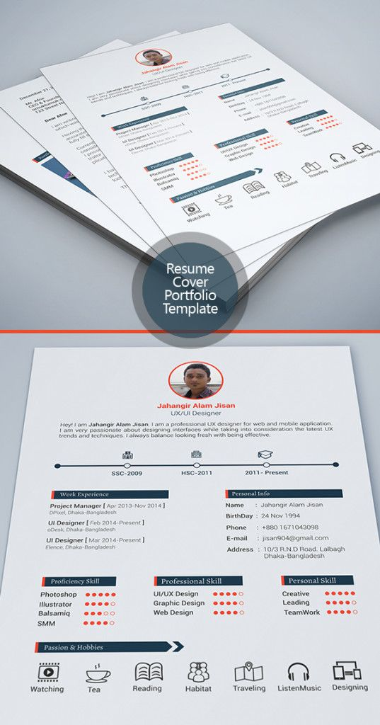 Check out this @Behance project u201cFREE Resume Templateu201d https - latest resume trends