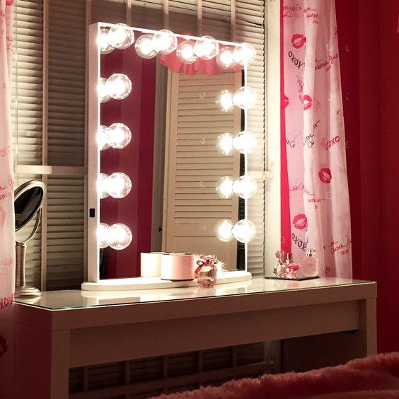 Hollywood Glow Xl Vanity Mirror Pinterest Glow Shops