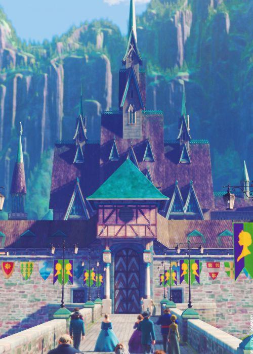 8. The castle I wish I lived in Arendelle castle. I
