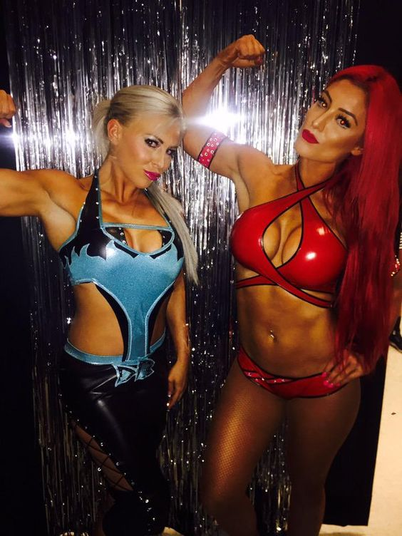 Dana Brooke and Eva Marie