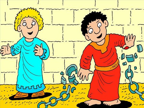 FreeBibleimages :: Peter escapes from prison :: When Peter is arrested and  put in prison, Christians pray for his release (Acts 12:… | Bible heroes,  Prison, Acts 12