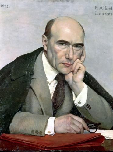 Portrait of Andre Gide 1924 by Paul Albert Laurens - art print from King & McGaw: