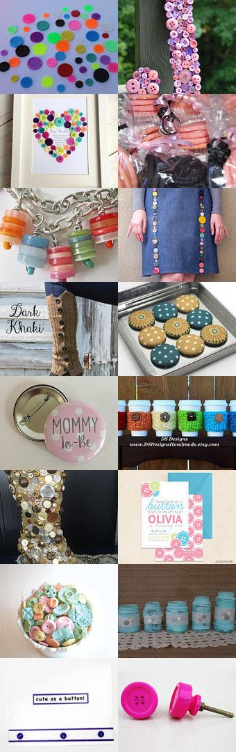Cute as a button by Megan Yates on Etsy--Pinned+with+TreasuryPin.com