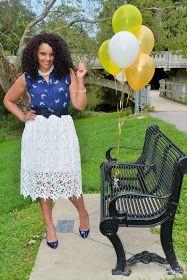 Curlybyrdie Chirps: Curlybyrdie Chirps Turns 2 #anntaylor #kohls #laurenconrad #midi #lace