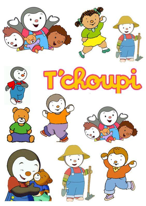 Décoration enfant Stickers / Autocollant Tchoupi