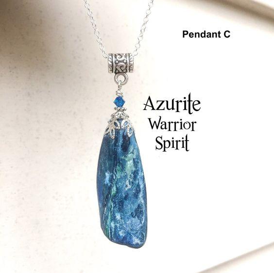 trippy necklace Energy healing crystal necklace Ammonite /& Quartz Moon Goddess amulet with Moonstone Third eye chakra protection amulet