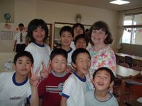 Awesome trip to Hanamaki-shi, Iwate Prefecture, Japan in 2005.  I was one of two teacher representatives from Hot Springs that year.  This is Sasama Daini school.