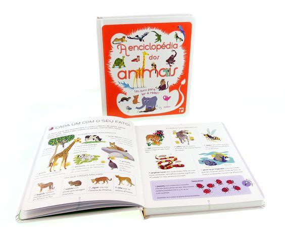 """Livro """"A Enciclopédia dos Animais"""""""