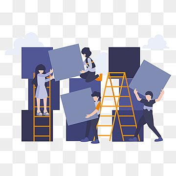 Business Flat People With Team Working Together Organize Boxes Concept Of Management And Hard Work Office Clipart Business Flat Png Transparent Clipart Image In 2021 Work Cartoons Cartoon Illustration Web Design Logo